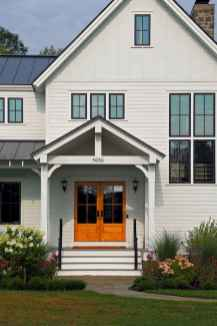 90 Modern American Farmhouse Exterior Landscaping Design (3)