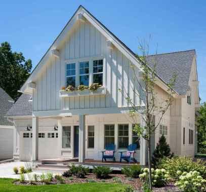 90 Modern American Farmhouse Exterior Landscaping Design (39)