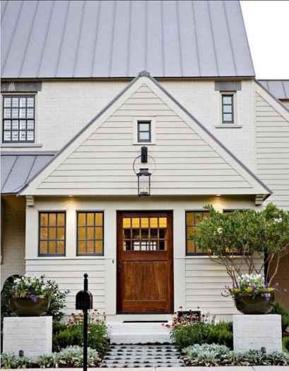 90 Modern American Farmhouse Exterior Landscaping Design (90)
