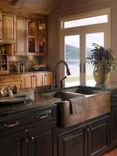 90 Rustic Kitchen Cabinets Farmhouse Style Ideas (65)