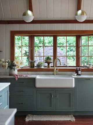 90 Rustic Kitchen Cabinets Farmhouse Style Ideas (90)