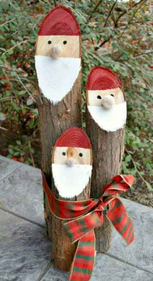 25 Gorgeous DIY Christmas Crafts Wooden Ideas (21)