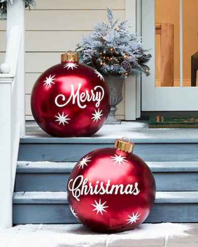 28 Christmas Decorations Outdoor Ideas (25)
