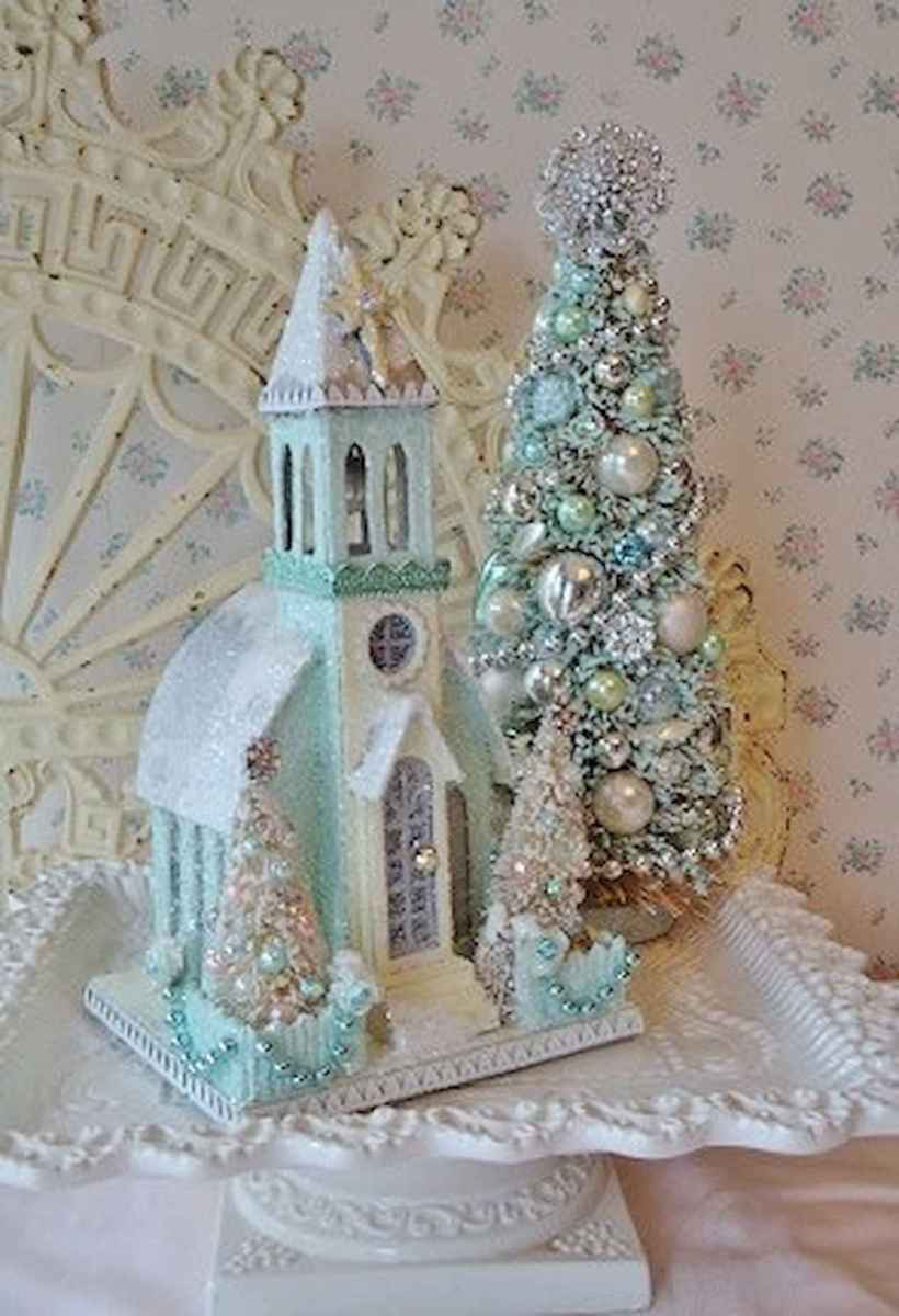 40 First Apartment Ideas Christmas Decorations Shabby Chic (4)