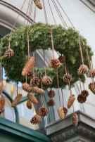 45 Best Christmas Decorations Outdoor Pine Cones Ideas (15)