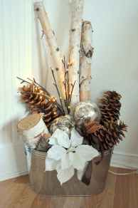 45 Best Christmas Decorations Outdoor Pine Cones Ideas (19)