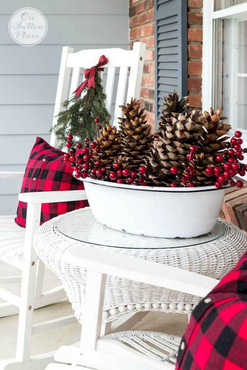 45 Best Christmas Decorations Outdoor Pine Cones Ideas (26)