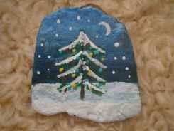 50 DIY Christmas Rock Painting Ideas (25)