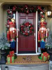 50 Simple DIY Christmas Door Decorations For Home And School (11)
