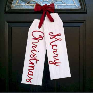 50 Simple DIY Christmas Door Decorations For Home And School (50)