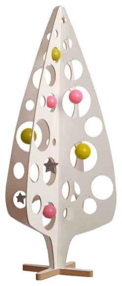 50 Stunning Modern Christmas Tree Decorations (12)