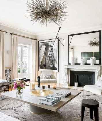 111 Beautiful Parisian Chic Apartment Decor Ideas (110)