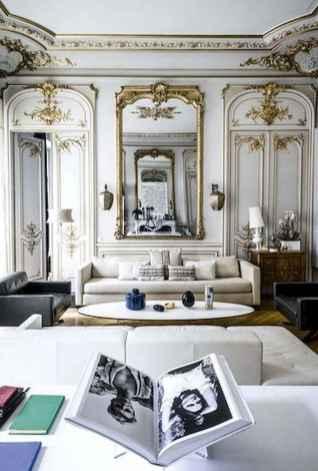 111 Beautiful Parisian Chic Apartment Decor Ideas (64)