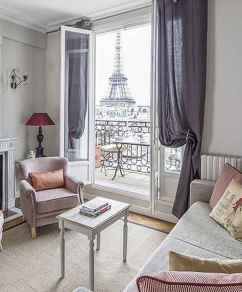 111 Beautiful Parisian Chic Apartment Decor Ideas (66)