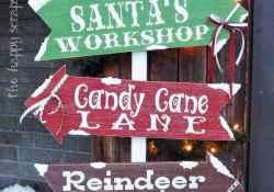 20 Amazing DIY Outdoor Christmas Decorations Ideas (17)