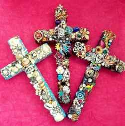 22 Easy DIY Glitter Shell Crafts Ideas (11)