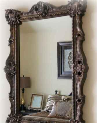 22 Stunning DIY Painted Mirror Designs Ideas (12)