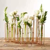 25 Easy DIY Test Tube Vase Crafts Ideas (23)