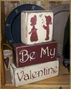 27 Romantic Valentines Decorations Ideas With Vintage (11)
