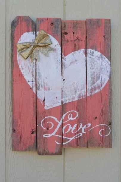 27 Romantic Valentines Decorations Ideas With Vintage (24)