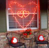 30 Cheap And Easy Valentines Apartment Decorations On A Budget (25)