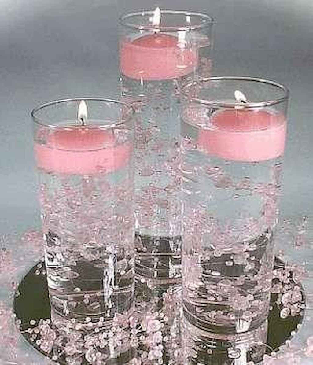 40 DIY Floating Candles Crafts Ideas (35)