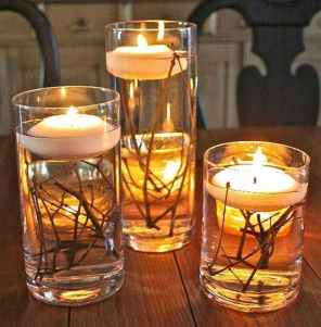40 DIY Floating Candles Crafts Ideas (4)