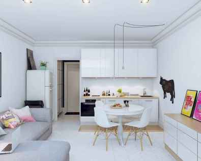 50 Amazing Small Apartment Kitchen Decor Ideas (1)