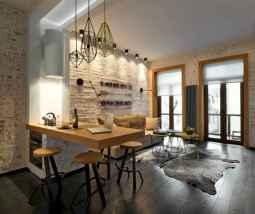 50 Amazing Small Apartment Kitchen Decor Ideas (21)