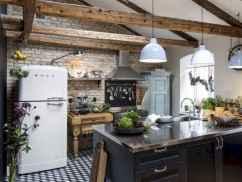 50 Amazing Small Apartment Kitchen Decor Ideas (23)
