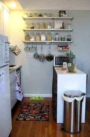 50 Amazing Small Apartment Kitchen Decor Ideas (29)