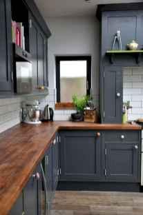 50 Fabulous Apartment Kitchen Cabinets Decor Ideas (18)