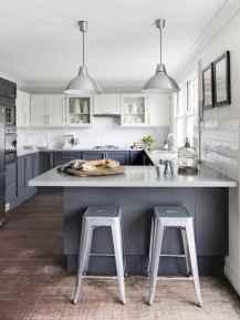 50 Fabulous Apartment Kitchen Cabinets Decor Ideas (7)