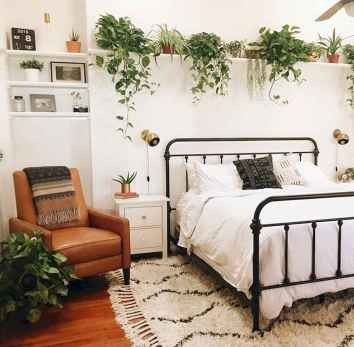 50 Incredible Apartment Bedroom Decor Ideas With Boho Style (13)