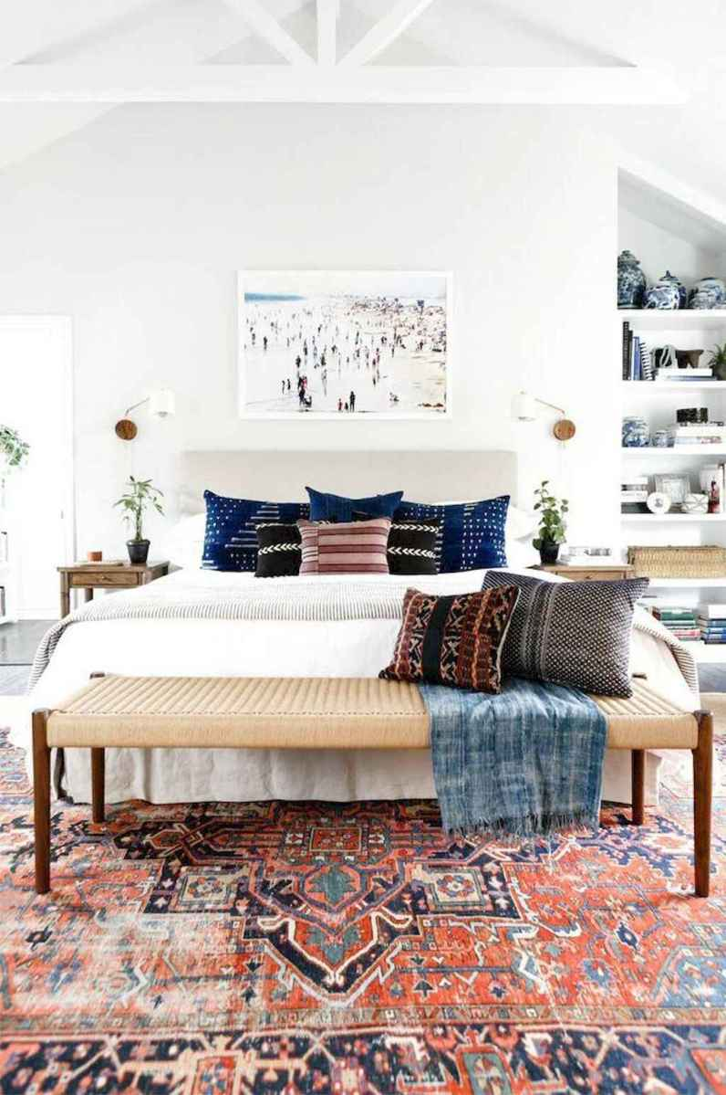 50 Incredible Apartment Bedroom Decor Ideas With Boho Style (17)