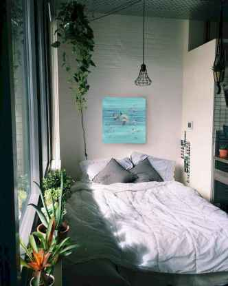 50 Incredible Apartment Bedroom Decor Ideas With Boho Style (38)