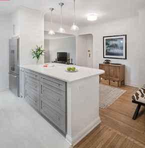 50 Miraculous Apartment Kitchen Rental Decor Ideas (27)