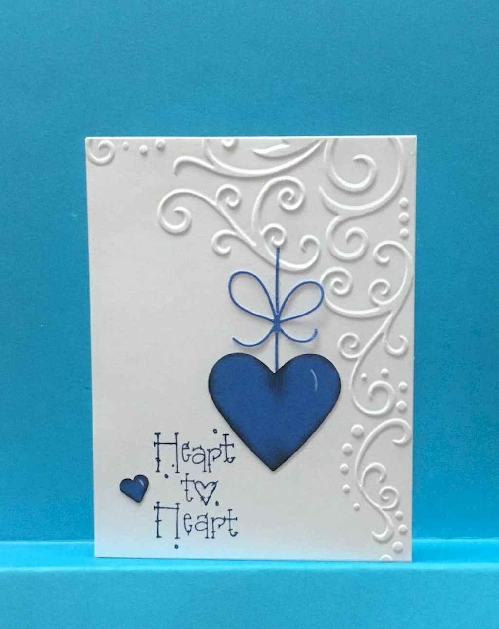 50 Romantic Valentines Cards Design Ideas (31)