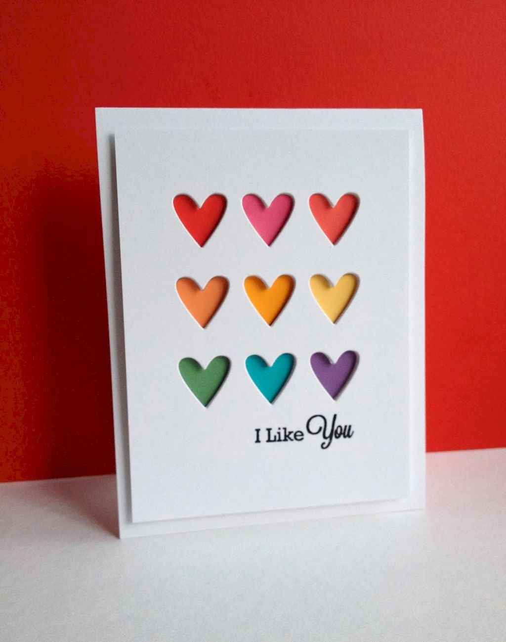 50 Romantic Valentines Cards Design Ideas (40)