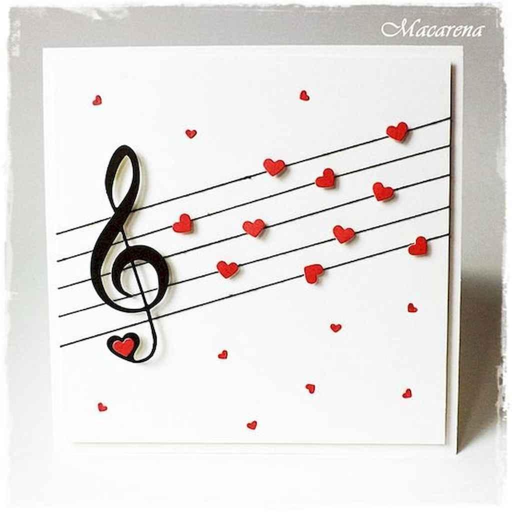 50 Romantic Valentines Cards Design Ideas (46)