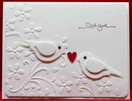 50 Romantic Valentines Cards Design Ideas (7)