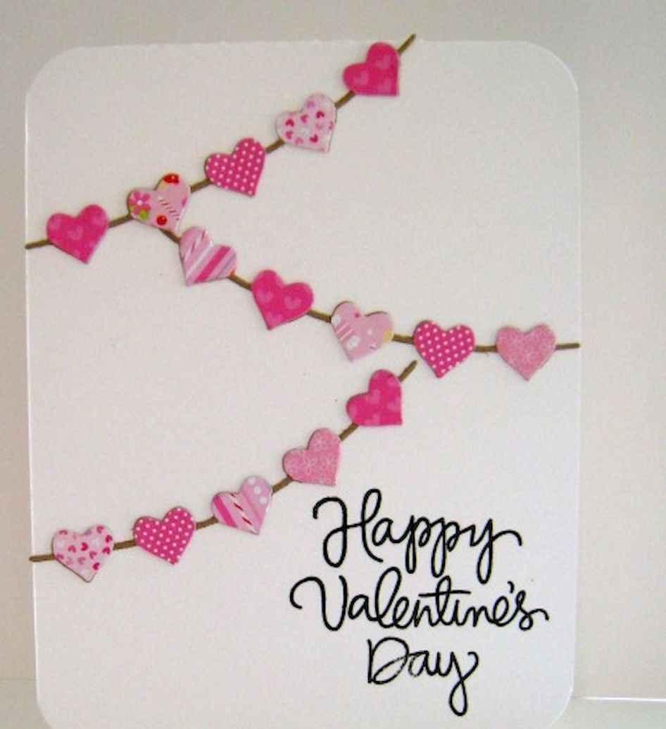 50 Romantic Valentines Cards Design Ideas (8)