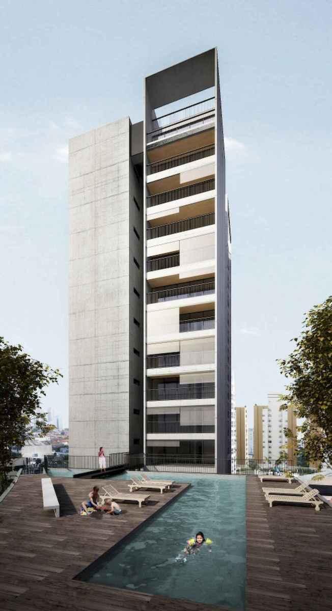 50 marvelous Modern Facade Apartment Decor Ideas (11)