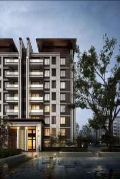 50 marvelous Modern Facade Apartment Decor Ideas (27)