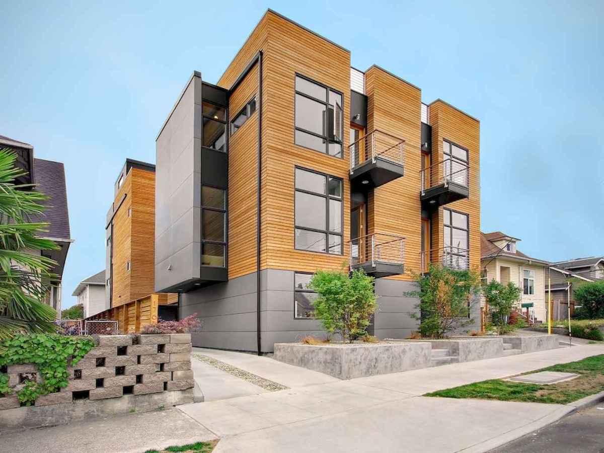 50 marvelous Modern Facade Apartment Decor Ideas (43)