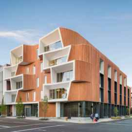 50 marvelous Modern Facade Apartment Decor Ideas (6)