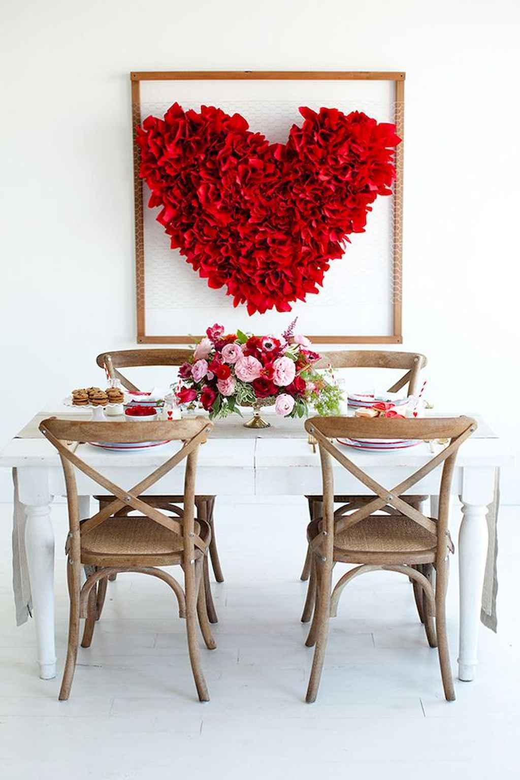 66 Romantic Valentines Table Settings Decor Ideas (27)