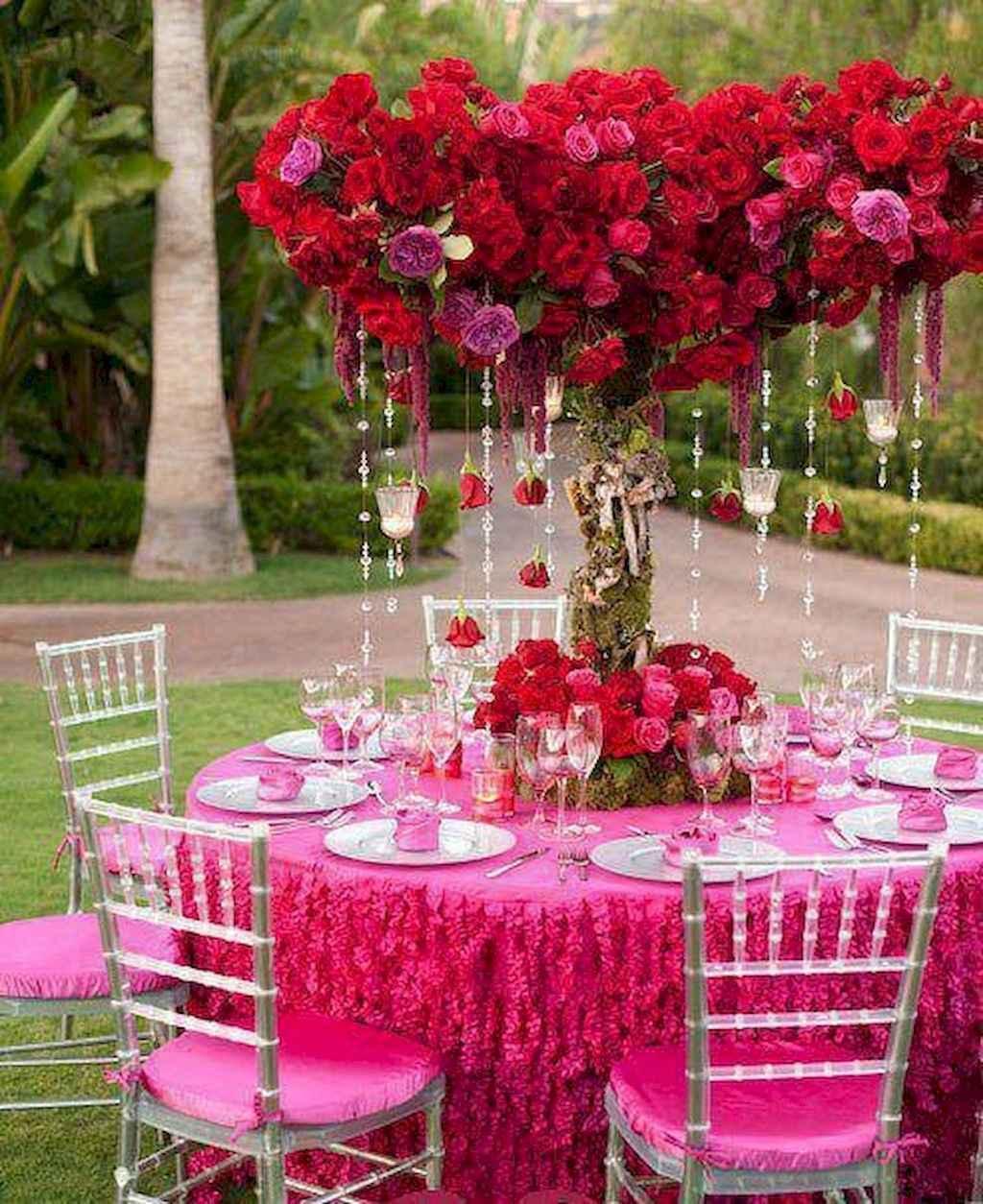 66 Romantic Valentines Table Settings Decor Ideas (54)