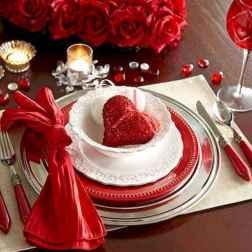 66 Romantic Valentines Table Settings Decor Ideas (9)