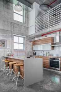 70 Cool Modern Apartment Kitchen Decor Ideas (11)